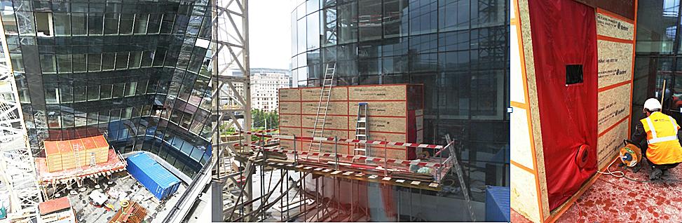test facade rideau